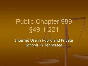 Public Chapter 989 49 1 221 Internet Use