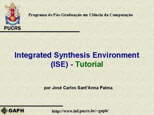 Programa de PsGraduao em Cincia da Computao Integrated