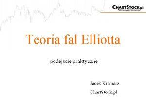 Teoria fal Elliotta podejcie praktyczne Jacek Kramarz Chart