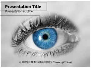 Presentation Title Presentation subtitle PPT 123 www ppt