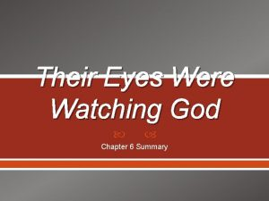Their Eyes Were Watching God Chapter 6 Summary