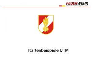 Kartenbeispiele UTM UTM REF 04 03 57 Kirche