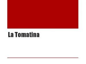 La Tomatina Table of Contents Sneak Peak Slide