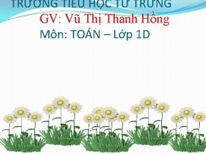 TRNG TIU HC T TRNG GV V Th