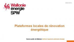 05022019 1 Plateformes locales de rnovation nergtique Service