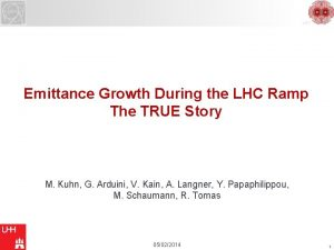 LHC Emittance Growth During the LHC Ramp The