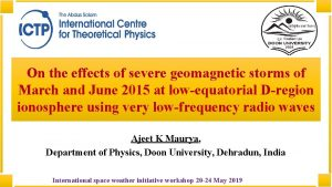 On the effects of severe geomagnetic storms of