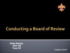 Created 21810 Eileen Mulcahy Troop 225 Vestal Committee