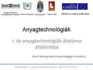 Budapesti Mszaki s Gazdasgtudomnyi Egyetem Szent Istvn Egyetem
