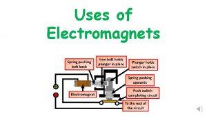Uses of Electromagnets Uses of Electromagnets Question Activity