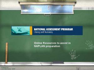 Online Resources to assist in NAPLAN preparation 2010