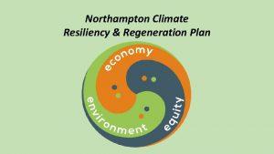 Northampton Climate Resiliency Regeneration Plan Regeneration mitigation Health
