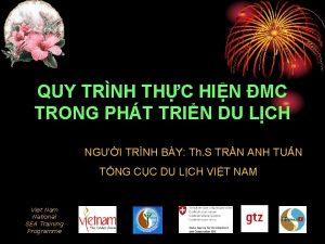 QUY TRNH THC HIN MC TRONG PHT TRIN