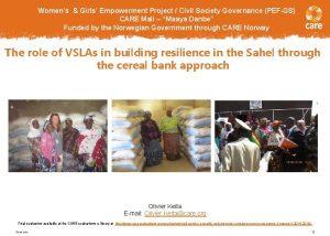 Womens Girls Empowerment Project Civil Society Governance PEFGS