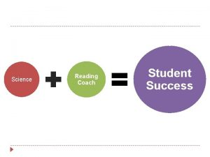 Science Reading Coach Student Success Promoting Student Success