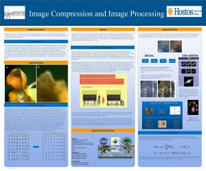 Image Compression and Image Processing Image Compression Abstract