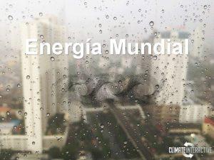 Energa Mundial Desarrollado por Las herramientas de vanguardia