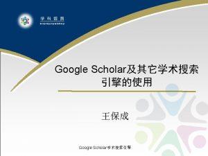 l Google Scholar Google Scholar Google Scholar Google