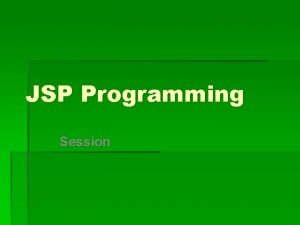 JSP Programming Session Ex 98 jsp page content