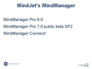 Mind Jets Mind Manager Pro 6 0 Mind