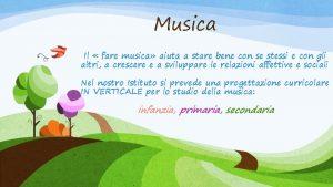 Musica Il fare musica aiuta a stare bene