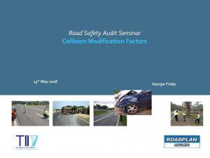 Road Safety Audit Seminar Collision Modification Factors 15