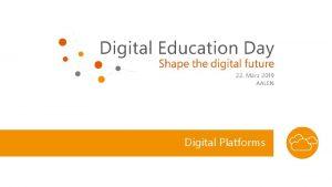 Digital Platforms Disruption potential why platforms matter Retail