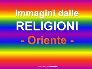 Immagini dalle RELIGIONI Oriente Selezione di immagini a