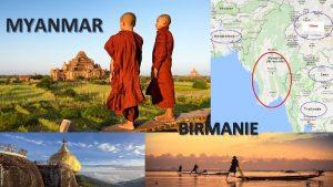 MYANMAR BIRMANIE BIRMANIE MYANMAR FAIRE Se dchausser en