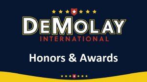 Honors Awards Honors vs Awards Honor Must be