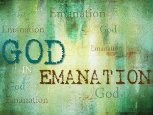 God In Emanation IN God In Emanation God