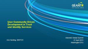 connect communicate collaborate User Community Driven Development in