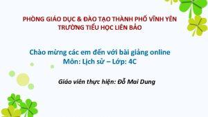 PHNG GIO DC O TO THNH PH VNH