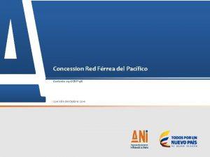 Concession Red Frrea del Pacfico Contrato 09 CONP98