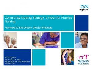 Community Nursing Strategy a vision for Practice Nursing