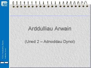 Arddulliau Arwain TGAU Astudiaethau Busnes Arddulliau Arwain Uned