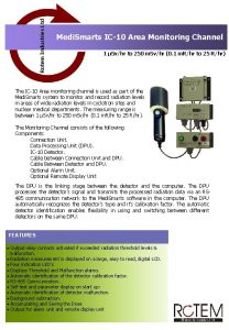Rotem Industries Ltd Medi Smarts IC10 Area Monitoring