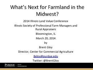 Whats Next for Farmland in the Midwest 2014
