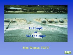 To Couple or Not To Couple John Warner