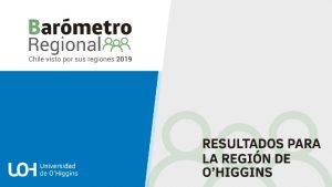 El Barmetro Regional estudia la percepcin ciudadana acerca
