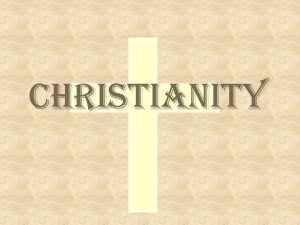 Christianity What is Christianity w A diverse 2000
