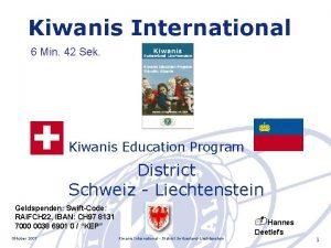 Kiwanis International 6 Min 42 Sek Kiwanis Education