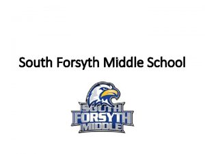 South Forsyth Middle School https www youtube comwatch