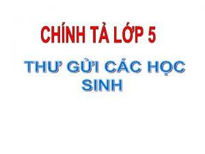 CHNH T B Kim tra bi c Em