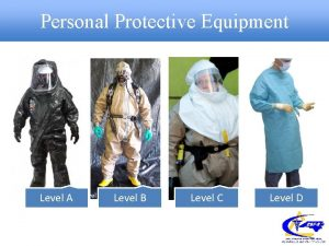 Personal Protective Equipment Level A Level B Level
