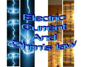 Electric Current Electric Current Electric Current Closed vs
