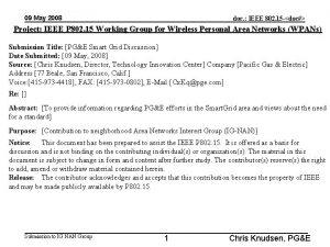 09 May 2008 doc IEEE 802 15 doc