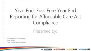Connect Learn Share Year End Fuss Free Year