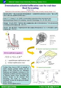 National Taiwan Ocean University Keelung Taiwan R O