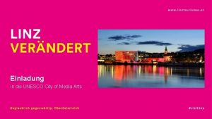 Einladung in die UNESCO City of Media Arts